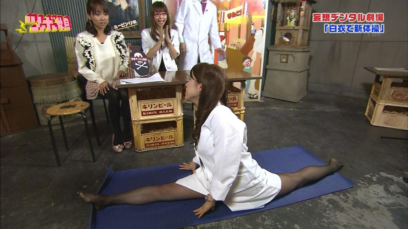 【軟体エロ画像】テレビで身体の柔軟さを自慢する床上手確定美女たちにより沸々と滾ってくる俺の血w