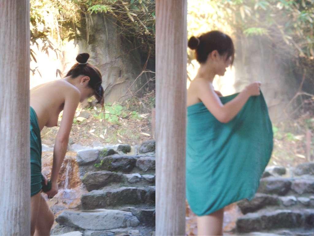 【女湯エロ画像】禁断の花園♪銭湯や温泉で憩ってる女性を影から盗撮( ・`ω・´)っ脱衣シーンもありまんこ♪