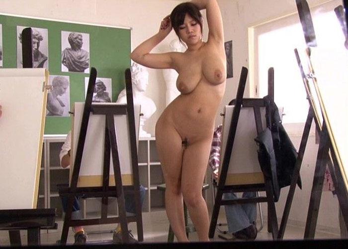 【女体エロ画像】ヌードデッサンが本当にこんなだったら今すぐ美大に願書出すわ(*゚∀゚)=3