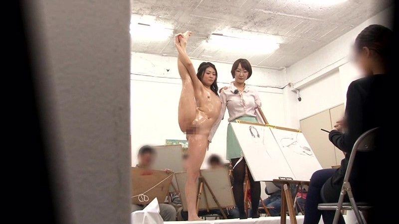【女体エロ画像】ヌードデッサンが本当にこんなだったら今すぐ美大に願書出すわ(*゚∀゚)=3 01