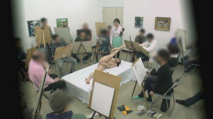 【女体エロ画像】ヌードデッサンが本当にこんなだったら今すぐ美大に願書出すわ(*゚∀゚)=3 02