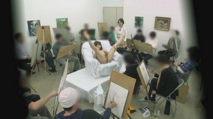 【女体エロ画像】ヌードデッサンが本当にこんなだったら今すぐ美大に願書出すわ(*゚∀゚)=3 03