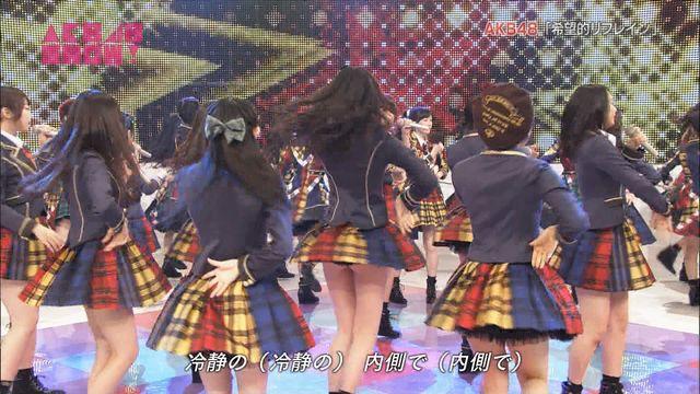 【画像】NHKでJKがおケツ丸出しwwwwww
