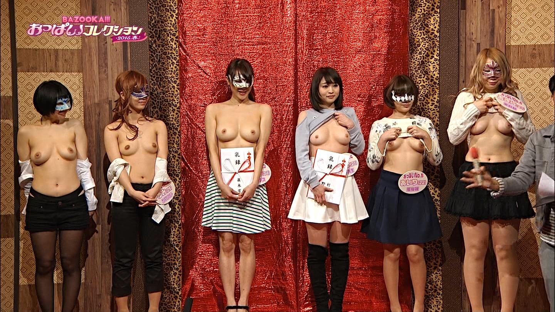 【TVエロ画像】さすがスカパーwおっぱい丸出しの美女がいっぱいな番組わんさか(*゚∀゚)=3