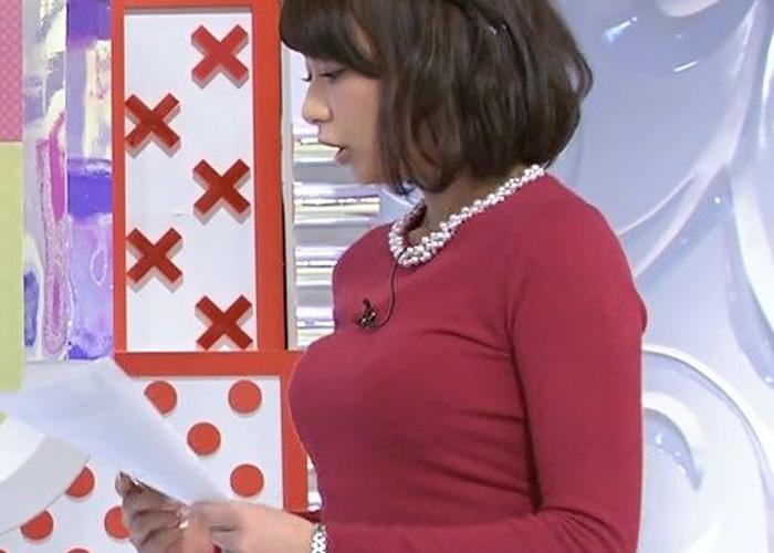 【女子アナエロ画像】TBSの新人女子アナのロケットおっぱいがヤバすぎと話題(*゚∀゚)=3