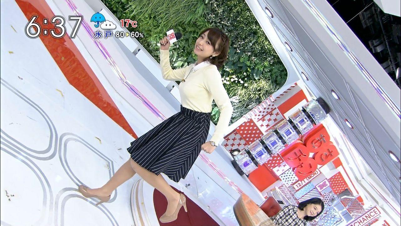 【女子アナエロ画像】TBSの新人女子アナのロケットおっぱいがヤバすぎと話題(*゚∀゚)=3 02