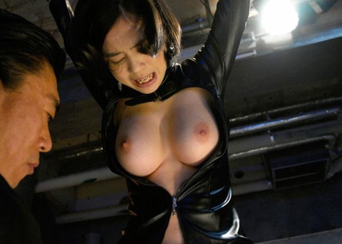 【エロ動画】受難の童顔エージェント!熾烈な性的拷問に落ちていく若きHカップ美爆乳(*゚∀゚)=3