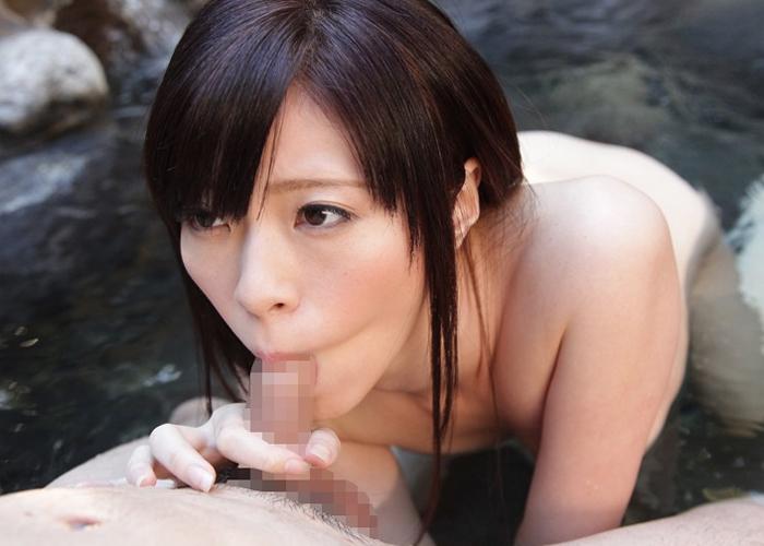 【エロ動画】温泉でズッポシ♪夫に嘘つく不埒な超美人若妻と不倫旅行(*´д`*) 01