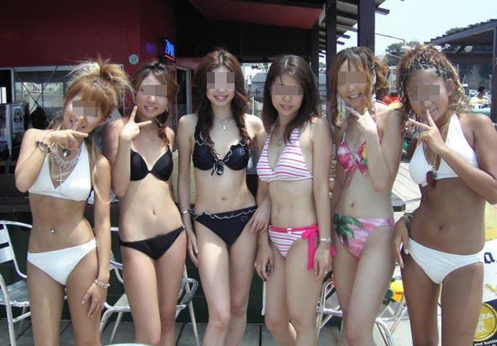 【水着エロ画像】今年の夏も今から期待w抜き応えあるビキニ巨乳な素人ギャルの皆さん(*´д`*)