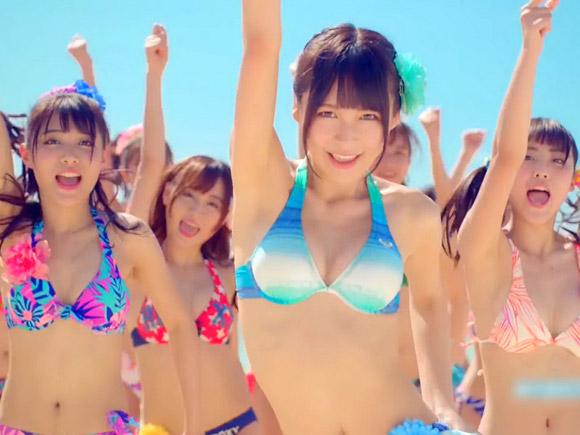 SNH48の全員水着PVがエロ可愛過ぎてヤバいwwww巨乳メンバー多過ぎwww