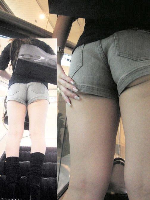【ショーパンエロ画像】今の時期なら見放題!綺麗な女脚と相性よすぎなショーパン(*´Д`)