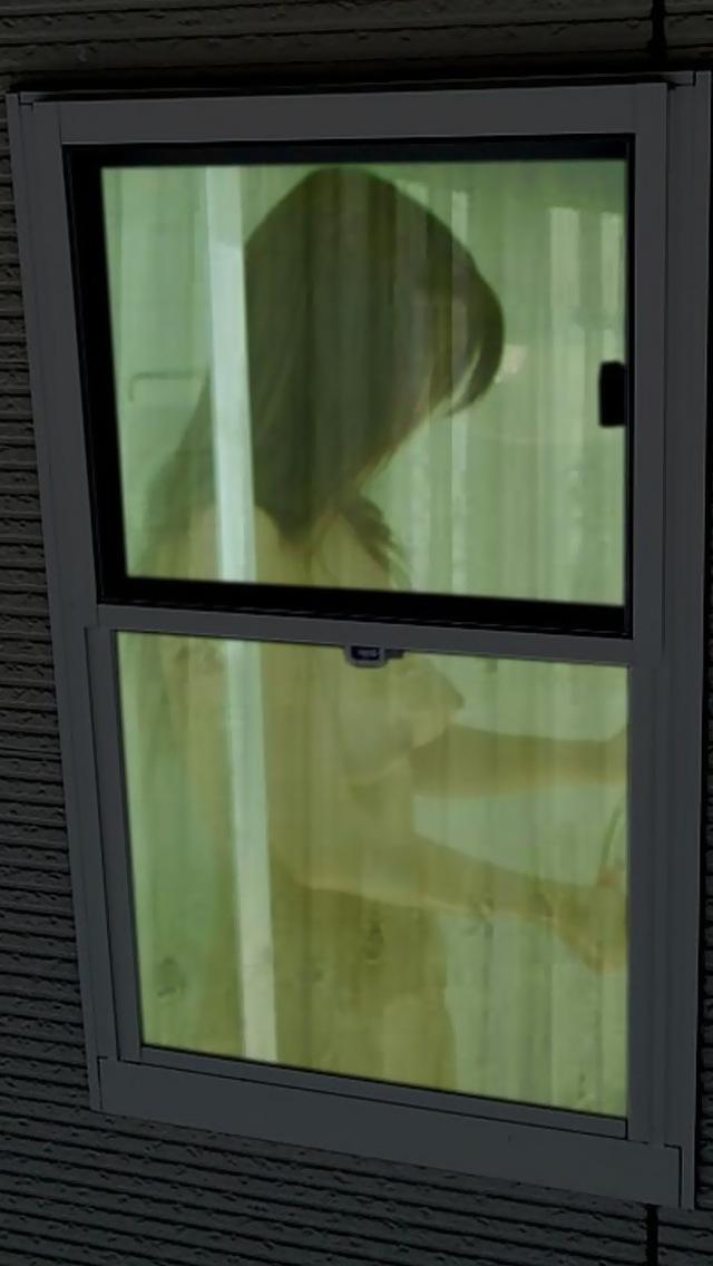 【民家エロ画像】開いた風呂の窓発見!手早く覗いて湯けむり全裸をゲット(*´Д`)