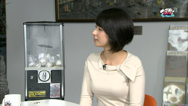 熊本に波瑠似の巨乳アナがいる件