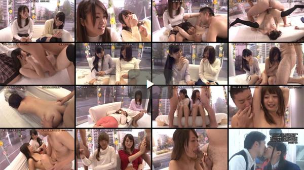 【エロ動画】親友に恥ずかしいとこ見られて…JD大興奮の公開セックス(*゚∀゚)=3 03