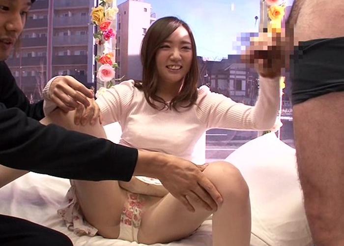 【エロ動画】デカっ!不安になりつつもハメる事を許して絶叫する素人娘たち(*゚∀゚)=3 01