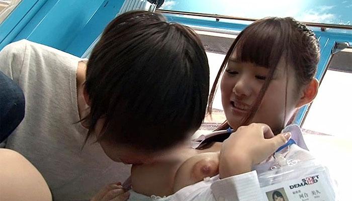 【MM号】童顔で巨乳なSOD女子社員が童貞を筆下ろす!!