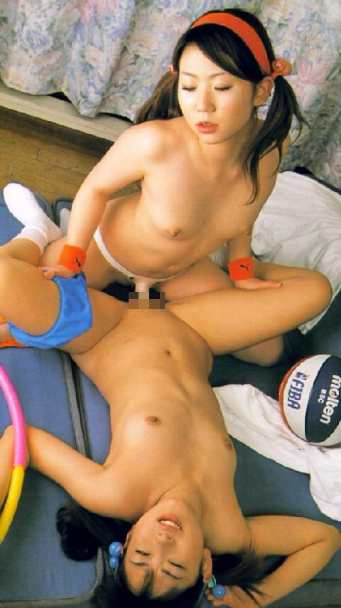 【レズエロ画像】棒が無くても心は繋がる…女同士の熱いレズ本番(*´Д`)