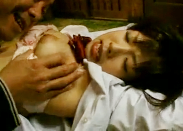 【エロ動画】落ちるまで凌辱!中年オヤジの監禁責めの餌食にされた巨乳美少女(*゚∀゚)=3