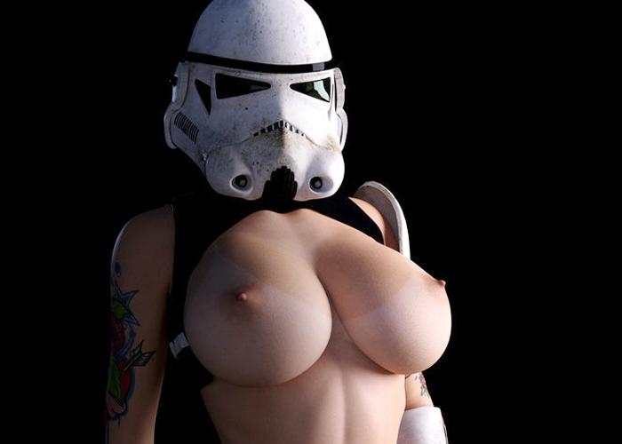 【海外エロ画像】凄い本物みたい…特に乳が、似合い過ぎの外人コスプレイヤー(*´д`*)