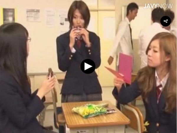 【エロ動画】風紀が乱れまくってる…セックス大好きJKたちの学園性活(*゚∀゚)=3 03