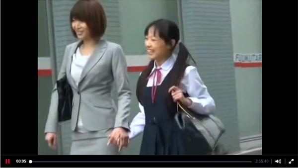 【エロ動画】狙うは母娘連れ!娘の前で痴漢凌辱された美人ママ(;゚∀゚)=3 03