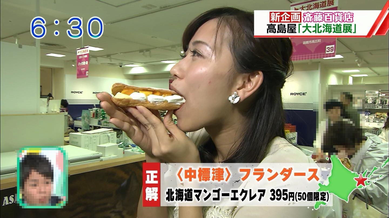 【TV飲食エロ画像】こんな風に咥えているの!?TVで見たなんかエロい食レポ(;^ω^)