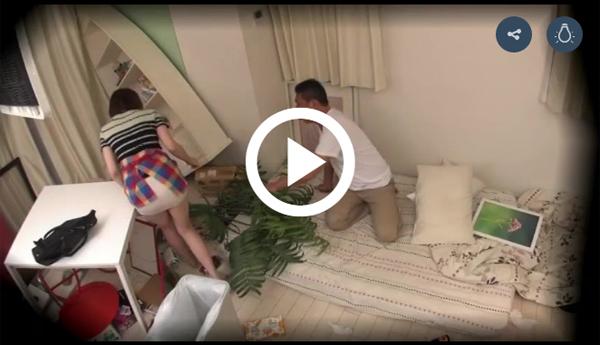 【エロ動画】ハウスキーパーのお姉さんのチラ見えに興奮して襲ってしまった(*゚∀゚)=3 03