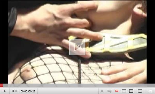 【エロ動画】AVのヒロインは負ける運命!女忍者戦士が捕まり集団凌辱(*゚∀゚)=3 03