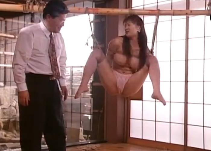 【エロ動画】夫はどこへ…緊縛調教で身も心も落とされていく巨乳妻(*゚∀゚)=3 01