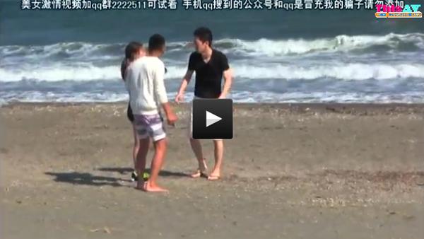 【エロ動画】ギャラと巨根であっさり陥落!ビキニ素人ナンパセックス(*゚∀゚)=3 03