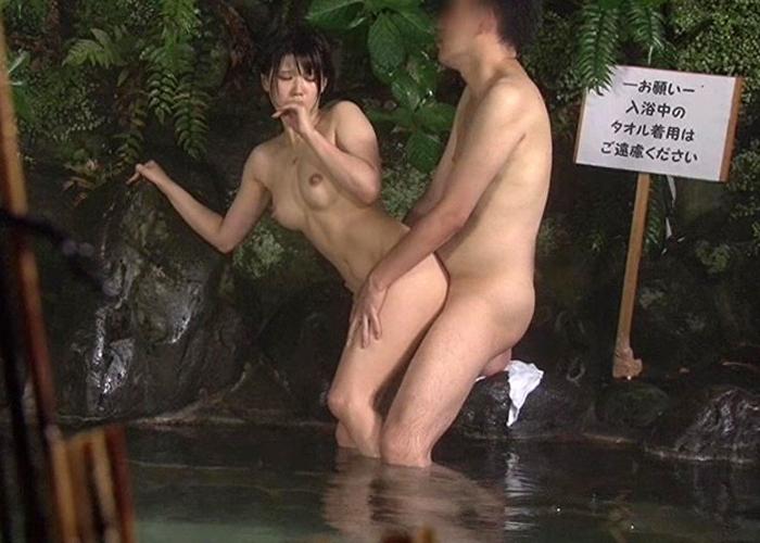 【エロ動画】凄いぞ混浴フラグ!初対面の男女がまさかの即セックス(;゚∀゚)=3 02