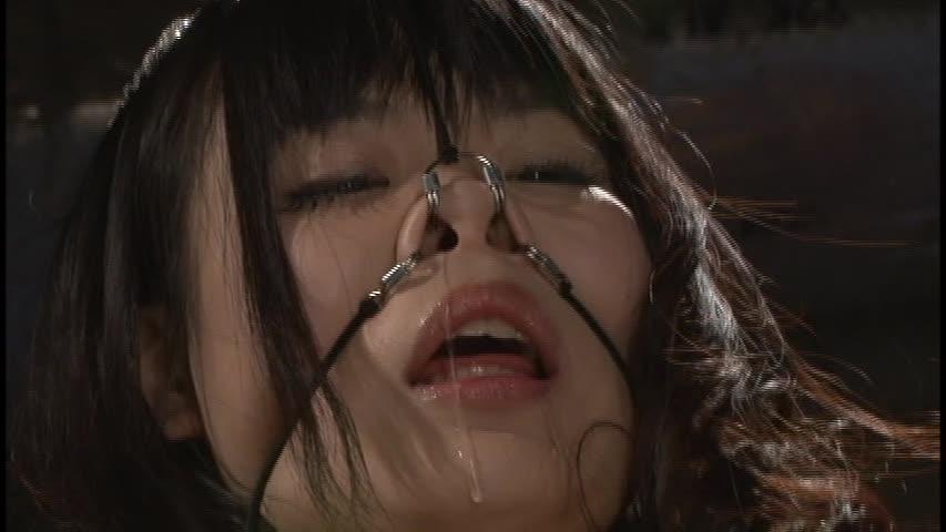 【SMエロ画像】誰にも見せたくない顔に…鼻フックで美女を顔面羞恥!(;・∀・)