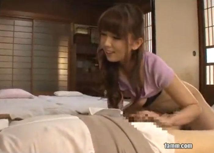 【エロ動画】高齢爺さんすらも若返らせる極上巨乳美女の介護セックス!(*゚∀゚)=3 01