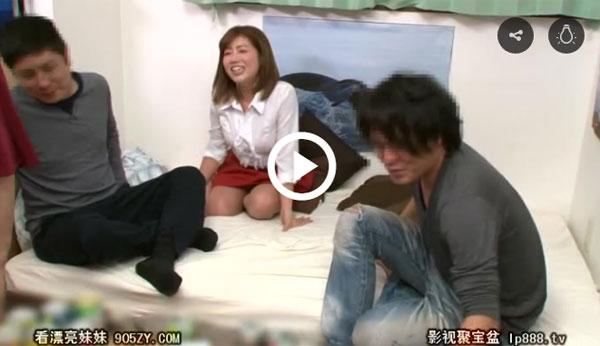 【エロ動画】イケメン親友が連れて来た巨乳美女と大乱交…まさかの初不倫!(*゚∀゚)=3 03