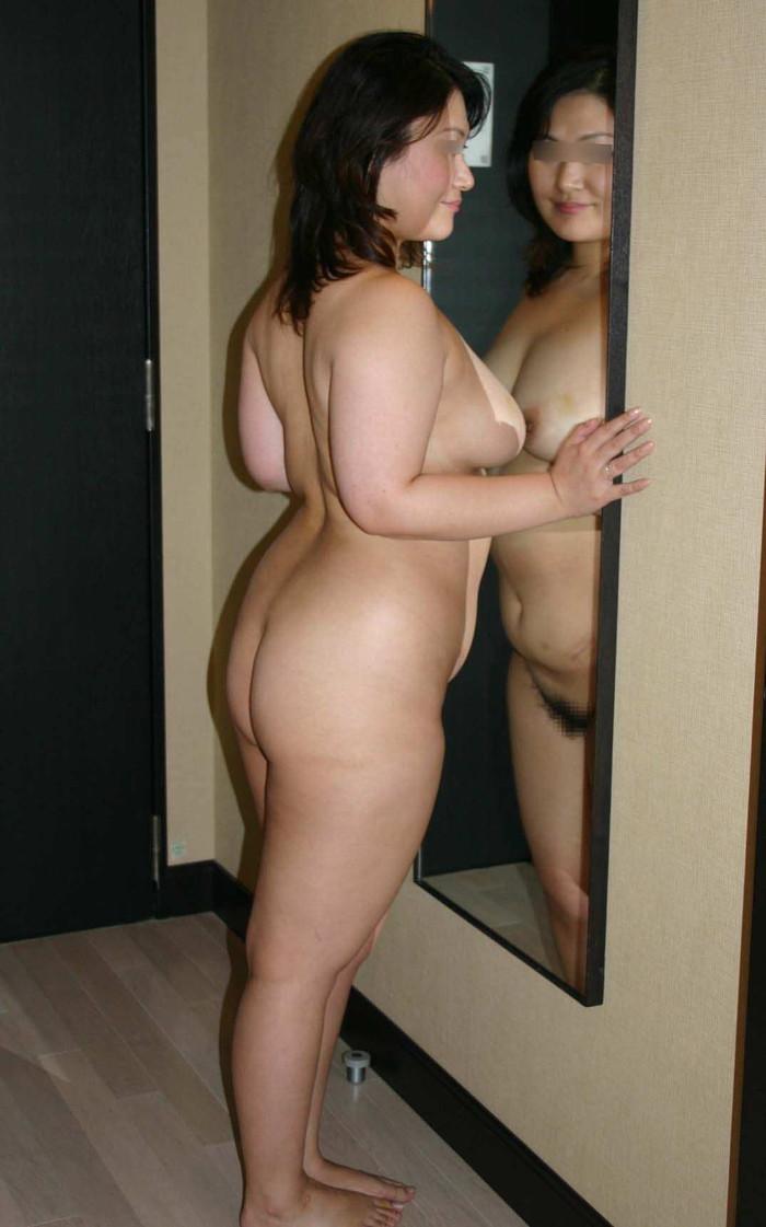 【ポチャエロ画像】丸い身体、抱き心地は最高、やはり女はポチャがいい! 24