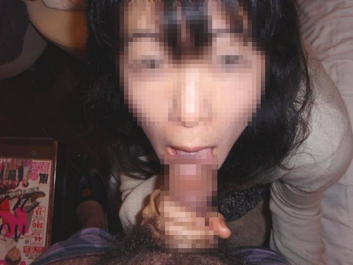 【熟女フェラエロ画像】こってりとした濃厚な熟女のフェラは、もちろん好きです! 27