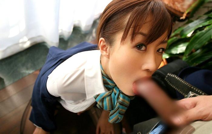 【OLエロ画像】昼間の喧騒が嘘のような会社でOLが制服で犯される! 24