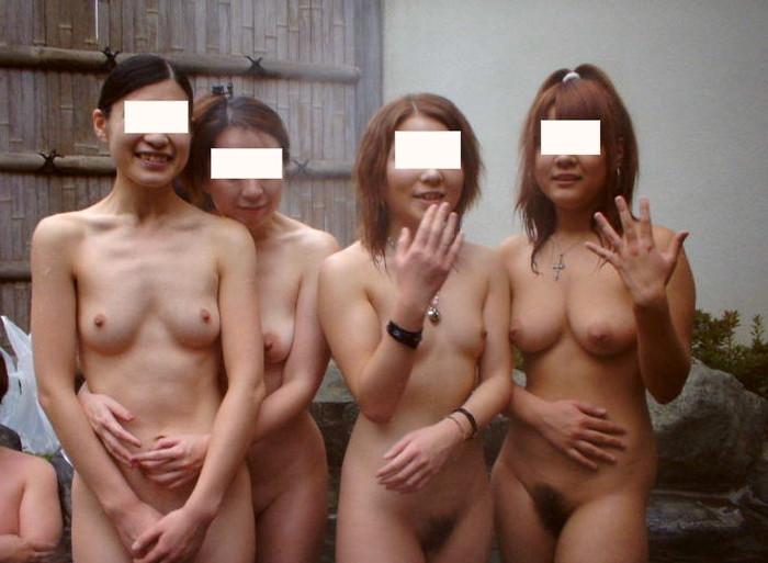 【混浴エロ画像】気持ちのいい露天風呂で気持ちのいいエロいコトしたいッス! 18