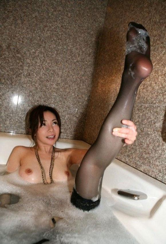 【泡女エロ画像】お風呂で泡だらけの女性と一緒に泡だらけになりたい! 11