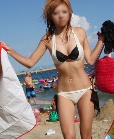 【夏水着エロ画像】夏の女の子の水着ってどうしてこんなにエロいのか! 12