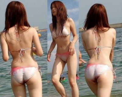 【夏水着エロ画像】夏の女の子の水着ってどうしてこんなにエロいのか! 14