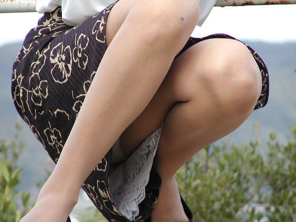 【街中エロ画像】過激に見えちゃった!色々見えすぎた素人女性たち!