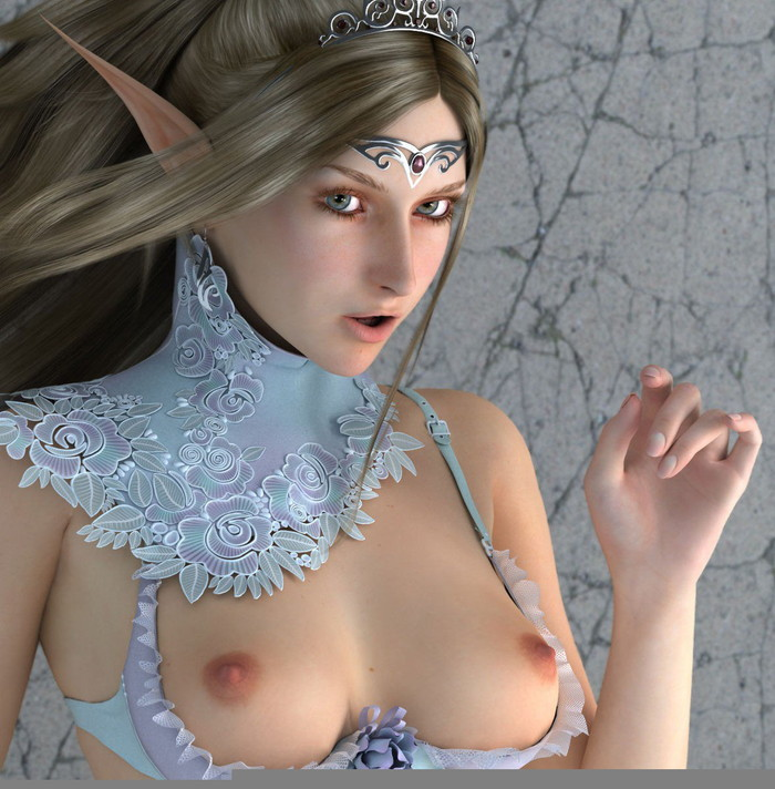 【3DCGエロ画像】実写と見間違いそうな程リアルな3DエロCGが堪らない! 04