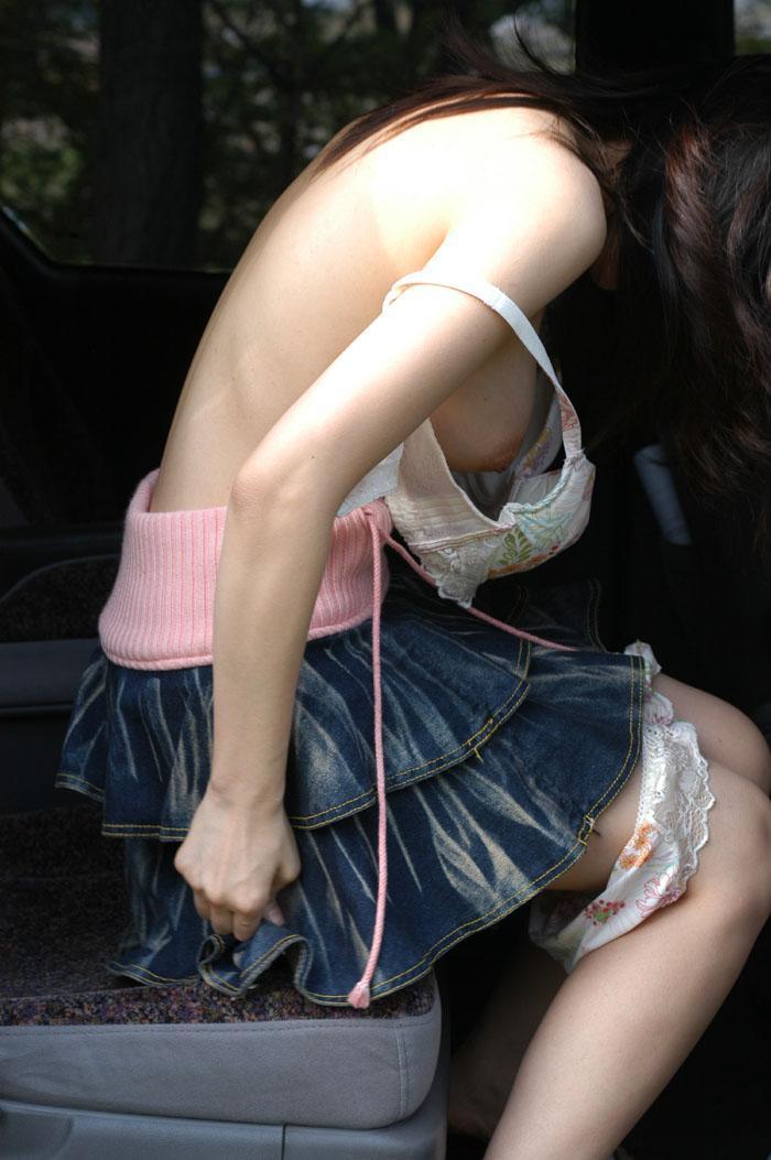 【盗撮エロ画像】偶然見えたエロだから興奮できる素人盗撮エロ画像!! 24