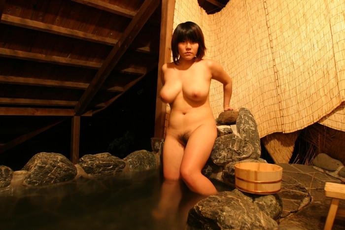 【入浴エロ画像】入浴する女の子!見たかった女湯の風景!絶景かな絶景かな!!w 06