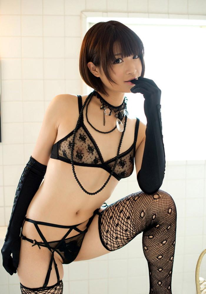 【下着エロ画像】セクシーすぎるだろ!こんな破廉恥な下着見せ付けられたら堪らん! 01