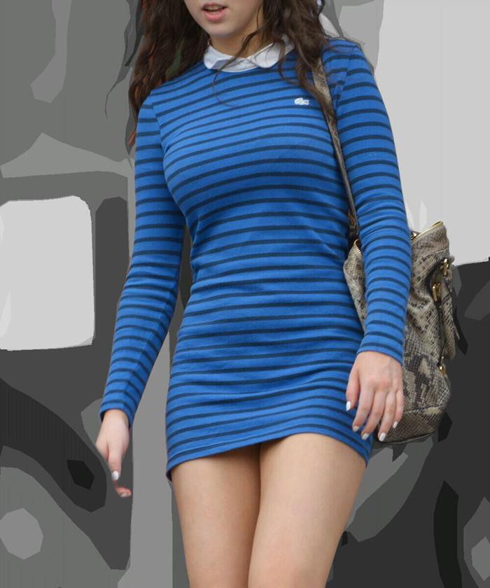 【着衣エロ画像】脱いでるわけじゃないのに妙にエロい!着衣エロってこんなん? 25