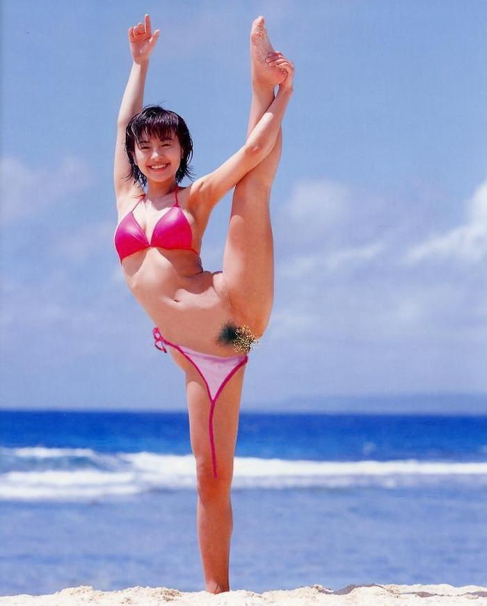 【ハプニングエロ画像】予期せぬエロハプニングに見舞われてしまった女の子達 08
