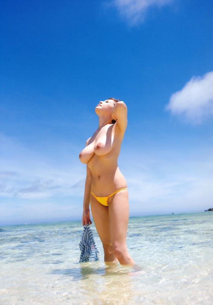 【RIONエロ画像】芸名を変えて再デビューしたAV女優の魅力的過ぎるおっぱい! 31