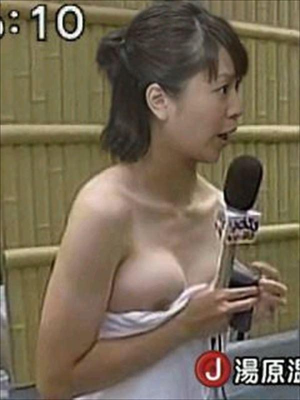 【TVハプニングエロ画像】うっかり電波に乗ってしまったエロシーンがてんこ盛り! 25